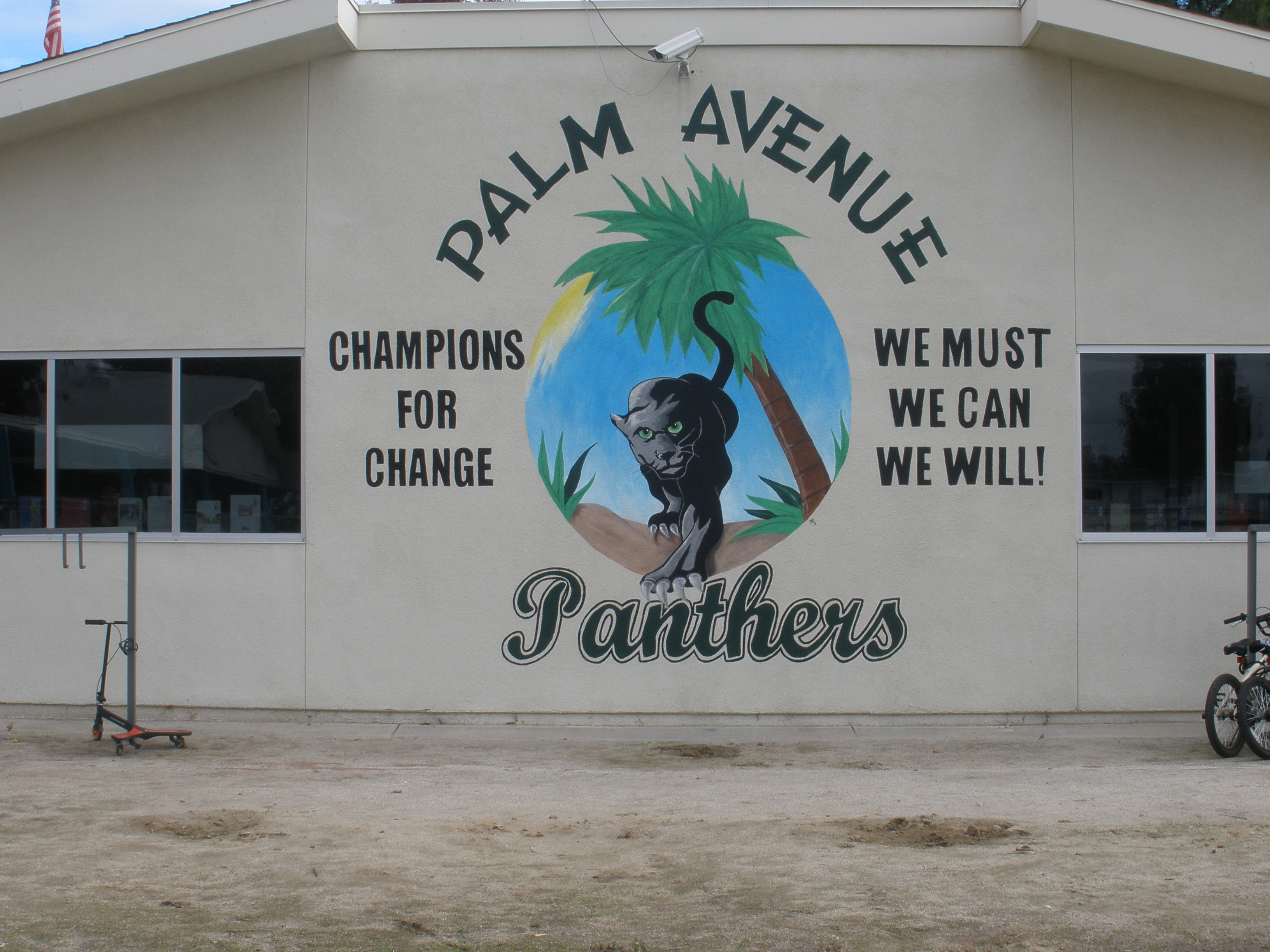 Panthers Mural